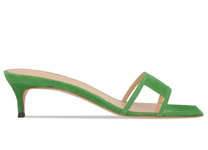 Virgo Green Suede