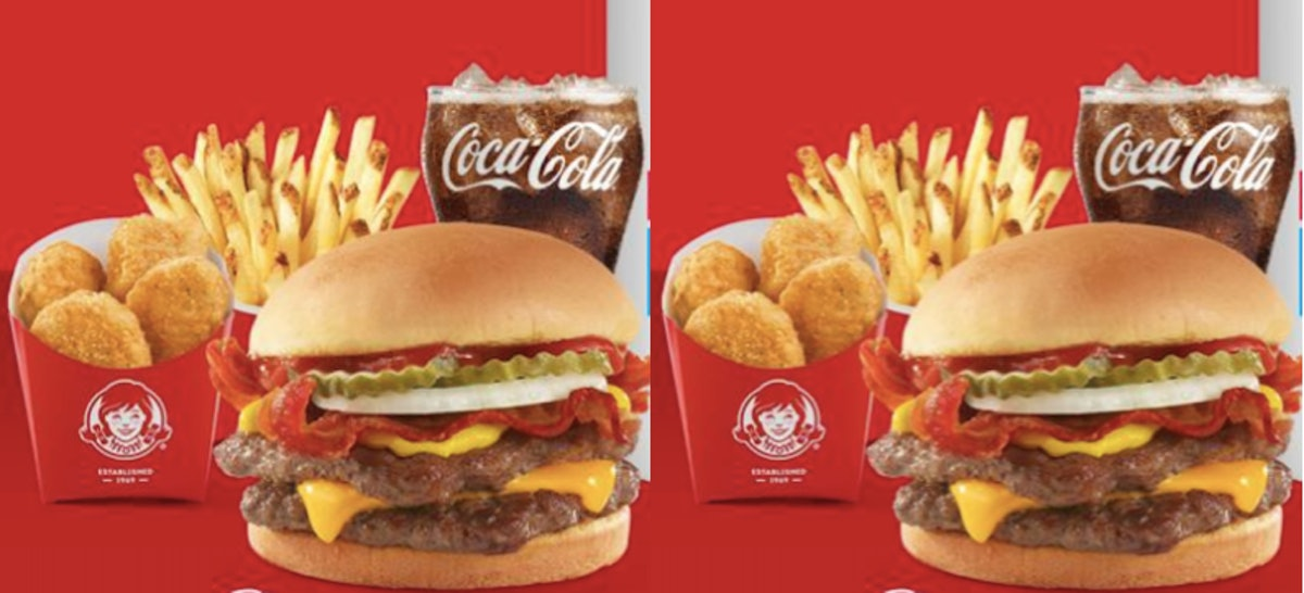 Wendy's & DoorDash's Free $5 Biggie Bag Deal Will Score You So Much Tasty Food