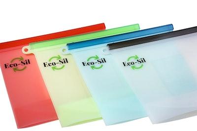 Eco-Sil Reusable Silicone Food Bag (4 Pack)
