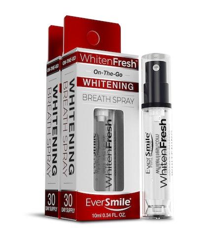 EverSmile WhitenFresh Teeth Whitening and Breath Freshening Spray, $15 (2 Pack), Amazon