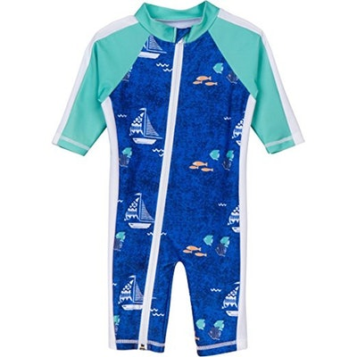 SwimZip Sunsuit (Sizes 0-24 Months)
