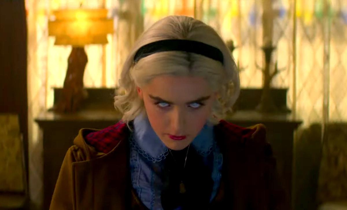 New 'Chilling Adventures Of Sabrina' Part 2 Trailer Shows Sabrina Embracing Dark Magic