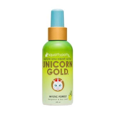 Squatty Potty Unicorn Gold Toilet Spray
