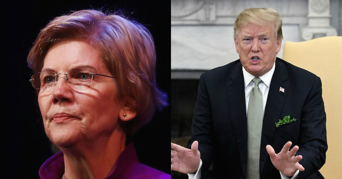 These Elizabeth Warren Quotes About Donald Trump Are Just Brutal