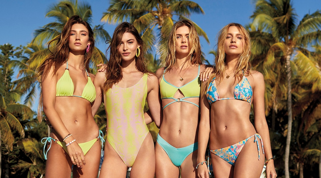 8358f9e0f1a4 Victoria's Secret Is Relaunching Swim Online Just In Time For Spring