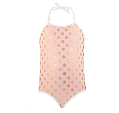 Snapper Rock Little Girls' One Piece Swimsuit (Sizes 2-14)
