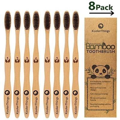 Koolerthings Bamboo Toothbrush (8 Pack)