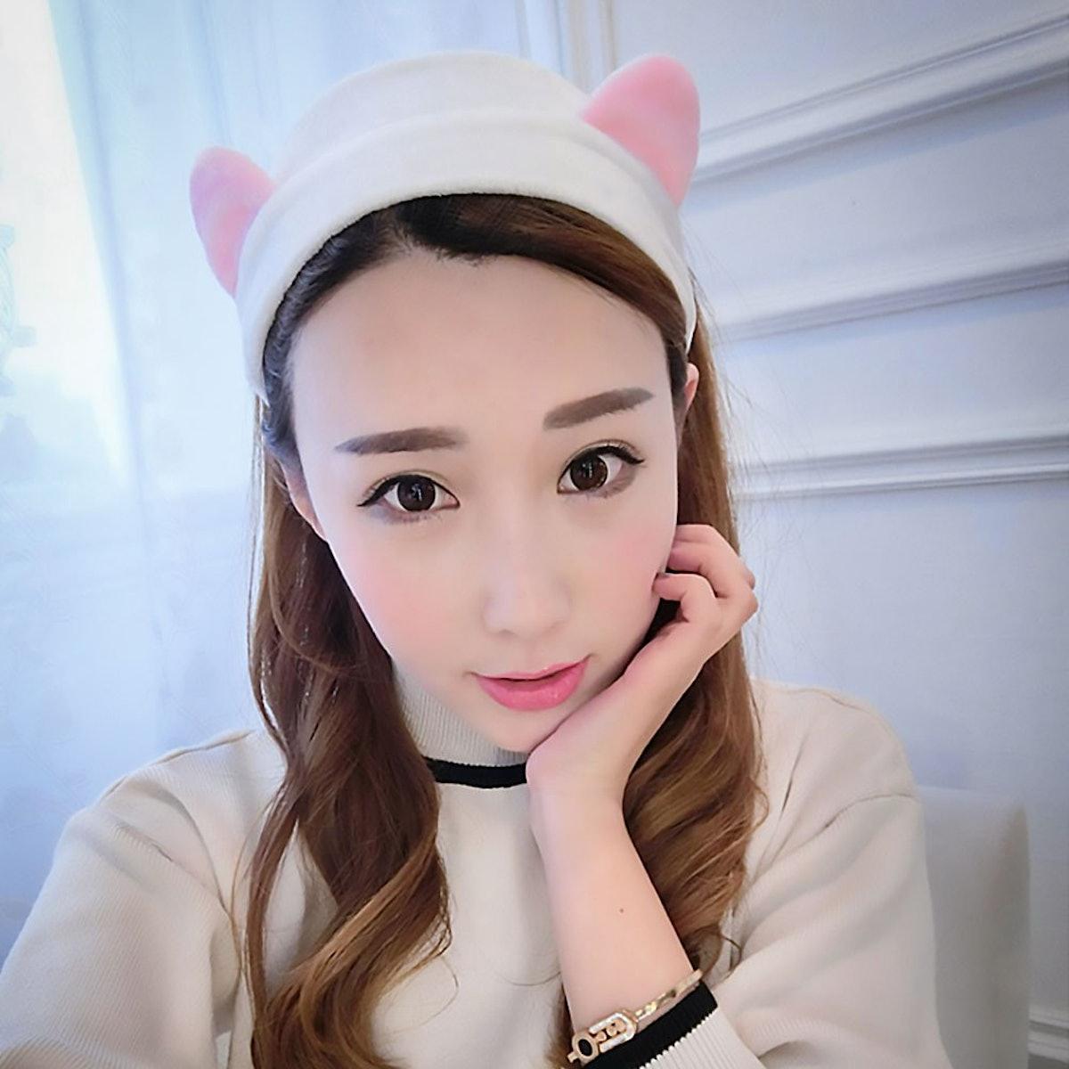 Teenitor Cat Ears Headbands (5 Pieces)