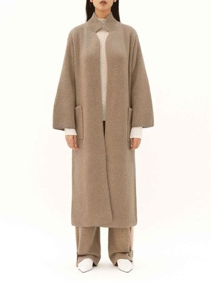 Ribbed Coat