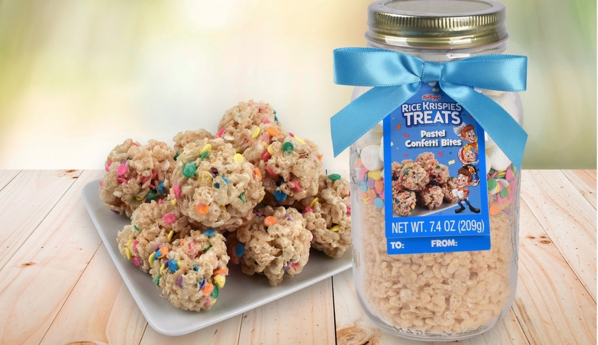 Rice Krispies Treat Mixes In A Jar Have Hit Walmart & They Are A Pastel Daydream
