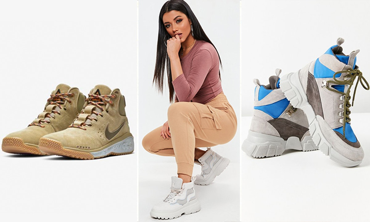 The Hiking Boots Trend Is The Transitional Look You Need This Spring