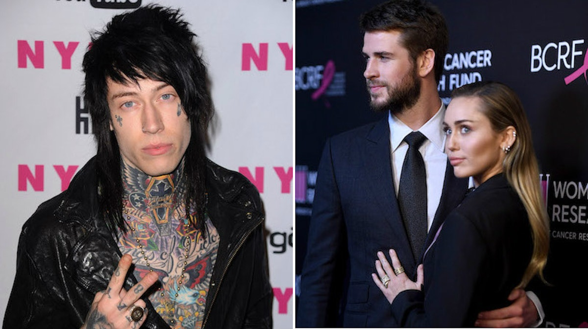 Trace Cyrus' First Impression Of Liam Hemsworth Dating Miley Was Not Great