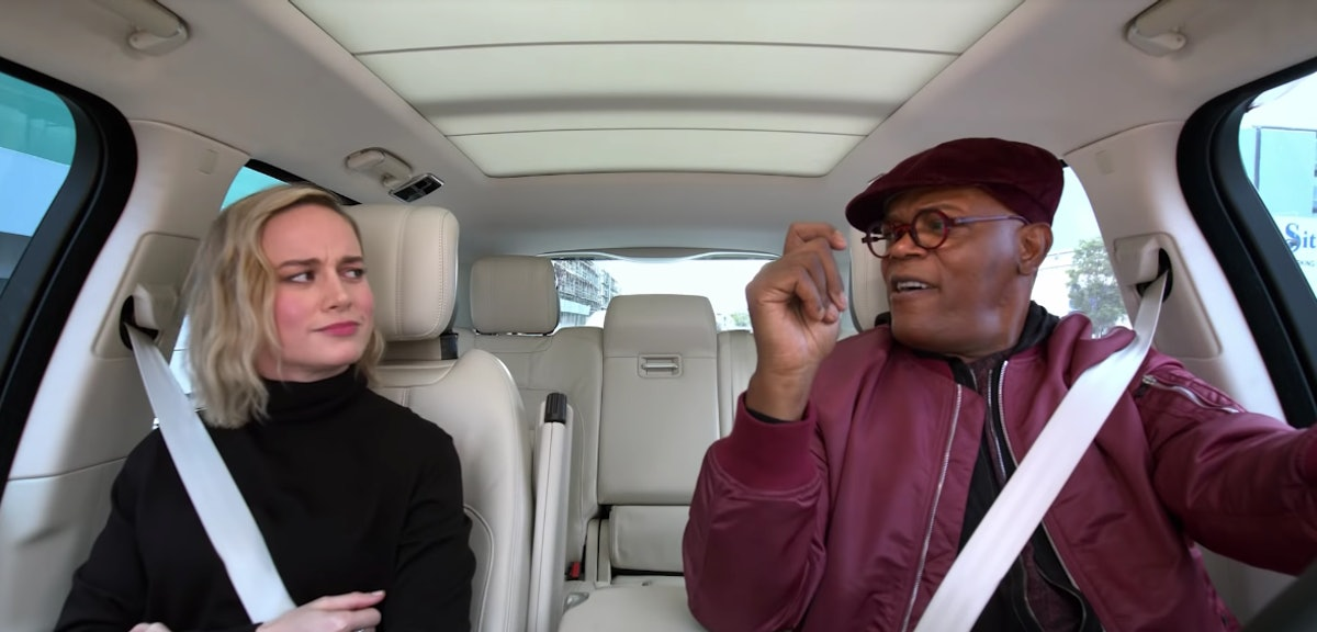 "Brie Larson & Samuel L. Jackson's ""Just A Girl"" Cover Got Approval From Gwen Stefani — VIDEO"