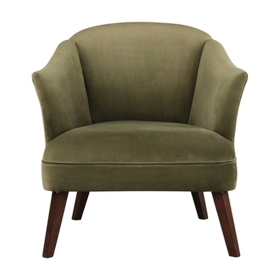 Elsa Accent Chair, Olive