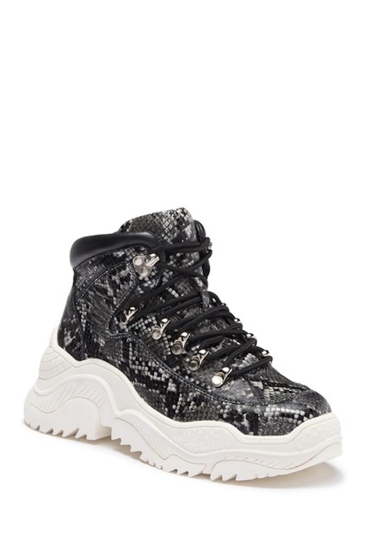 Debris Sneaker Boot