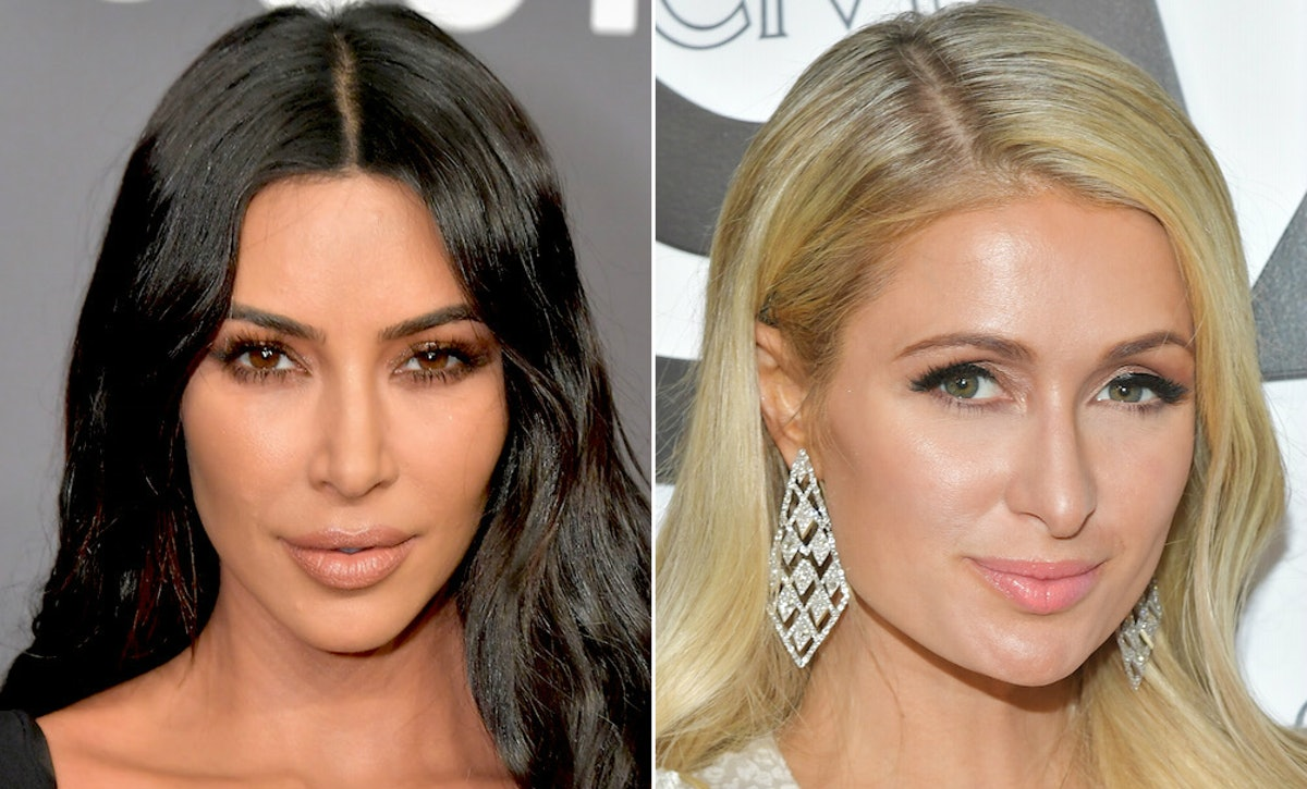 The Videos Of Kim Kardashian Celebrating Paris Hilton's Belated Birthday Are So Fun
