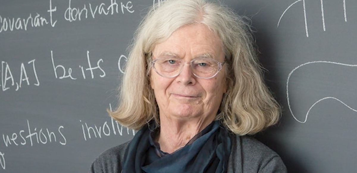 Karen Uhlenbeck Wins The Abel Prize & It's The First Time The Math Award Goes To A Woman