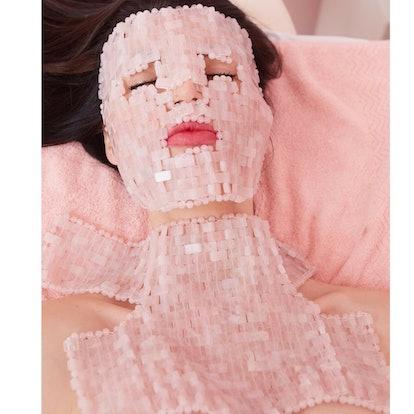 Rose Quartz Goddess Mask Set