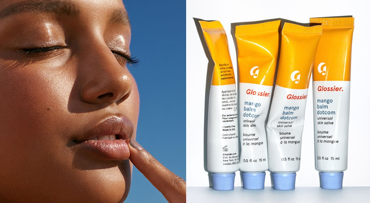 Glossier's New Mango Balm Dotcom Is Here, & It's A Summer Drink In Lip Balm Form