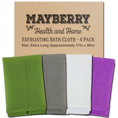 Mayberry Health and Home Exfoliating Bath Cloth