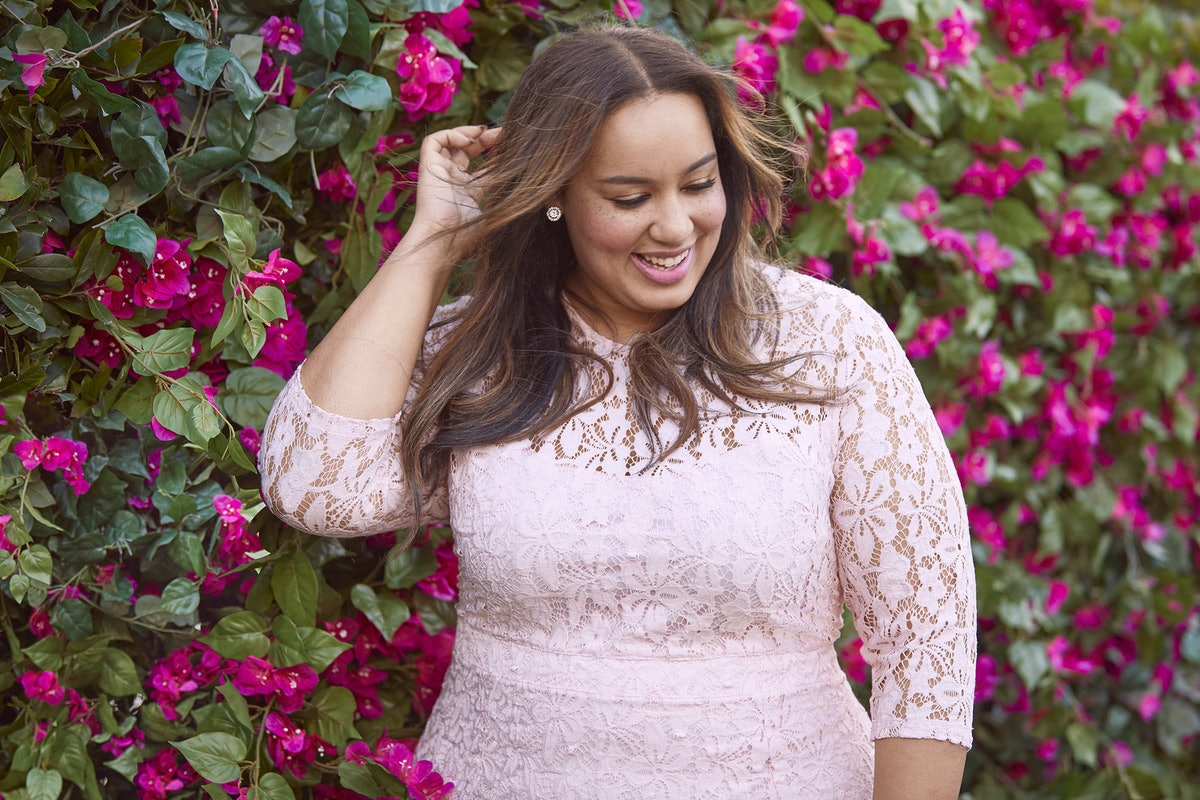What's In The Beauticurve X Lane Bryant Collection? It's Literally Spring In A Dress