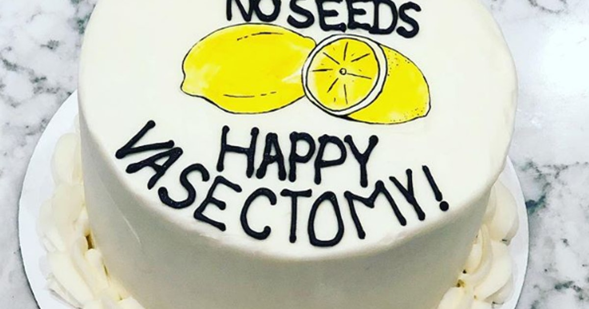 This Vasectomy Cake Is Just What The Doctor Ordered To Celebrate End Of An Era