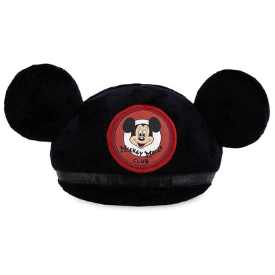 Mickey Mouse Club Ear Hat Plush Pet Chew Toy