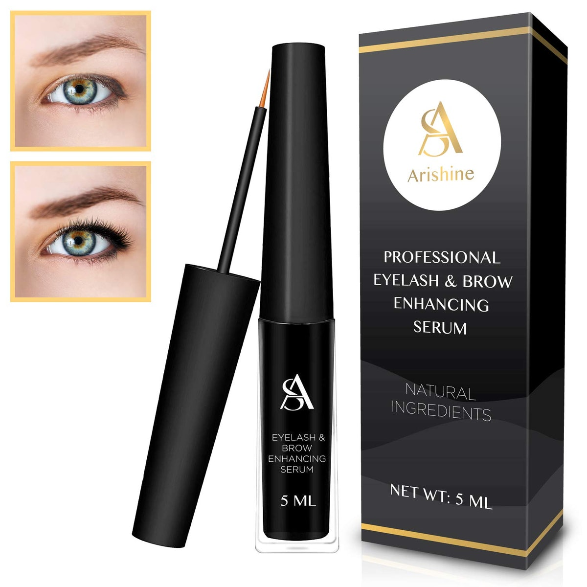 Arishine Eyelash & Eyebrow Enhancing Serum