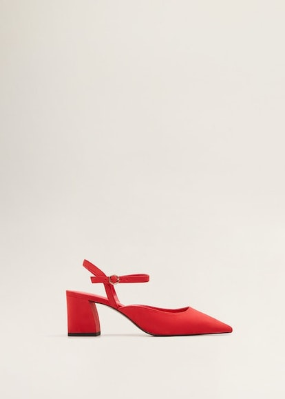 Ankle-Cuff Heel Shoes