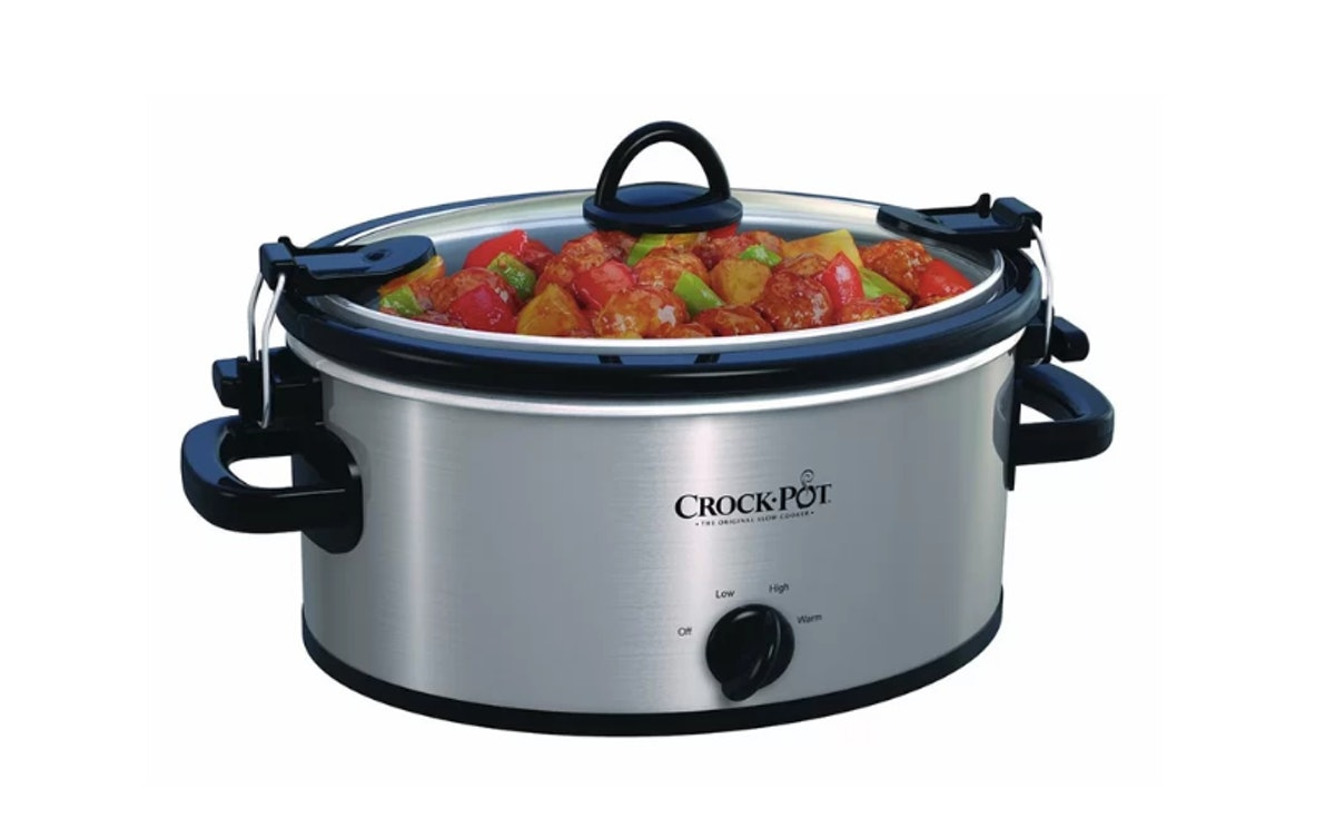 4 Qt. Cook and Carry Slow Cooker Stainless Steel