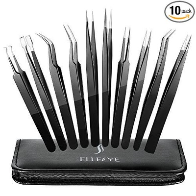 ELLESYE Precision Tweezer Set