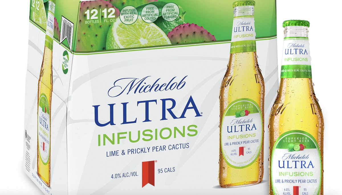 Michelob ULTRA's Lime & Prickly Pear Cactus Infusions Are Hitting Shelves