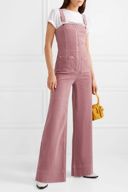 Quincy Stretch-Cotton Corduroy Overalls