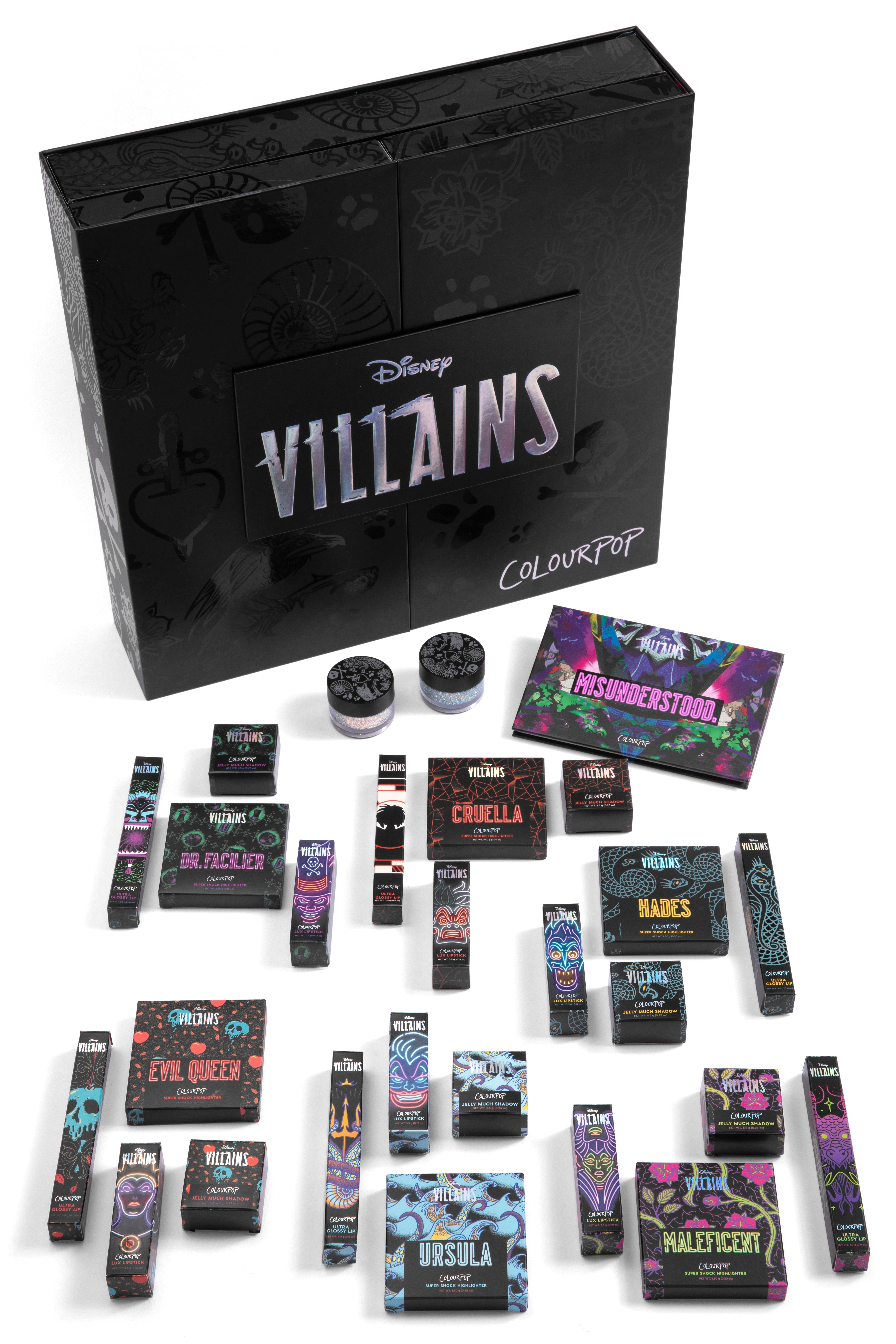What's In The ColourPop x Disney Villains Collection? It'll