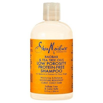 Baobab & Tea Tree Oils Low Porosity Protein-Free Shampoo