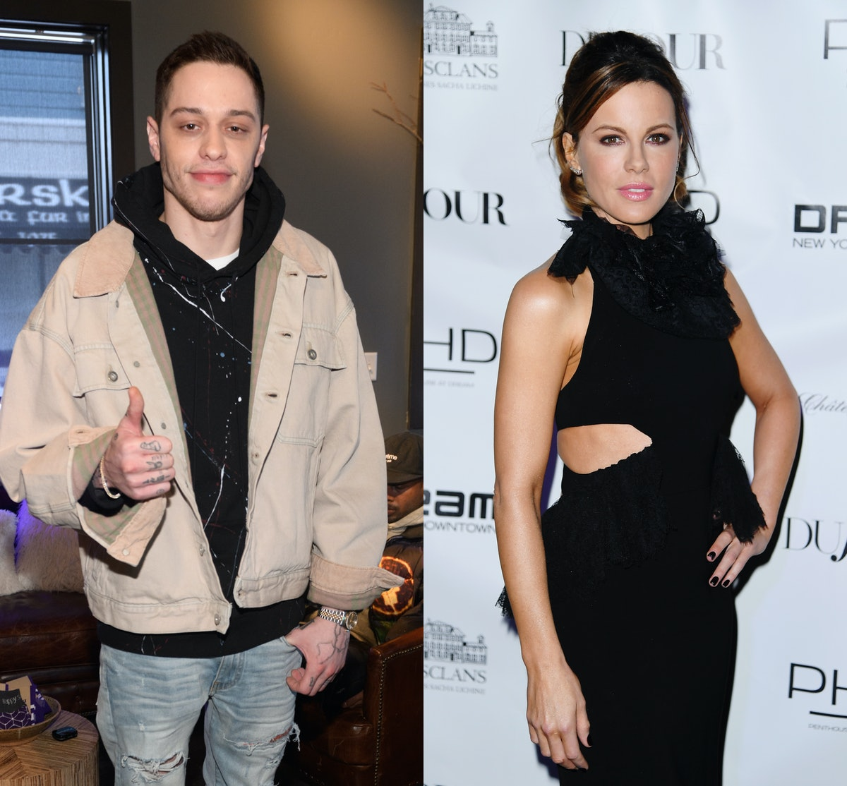 Pete Davidson & Kate Beckinsale Were Spotted Out Again, Suggesting They're Still Going Strong