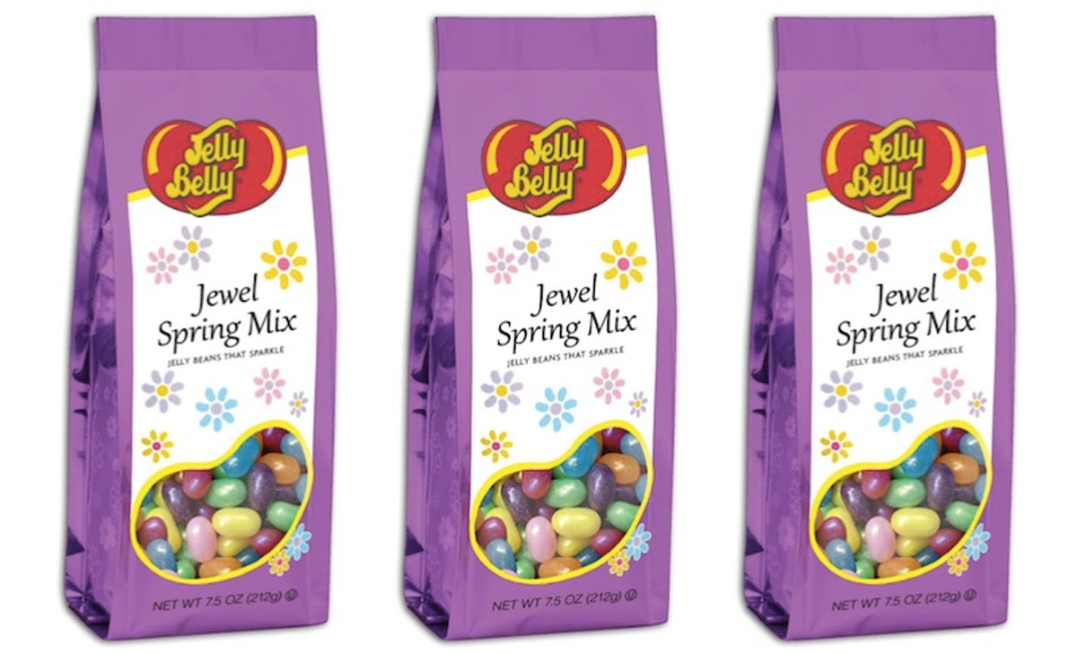 Jelly Belly's Jewel Spring Mix Has Sparkling Jelly Beans That Are Extra Insta-Worthy