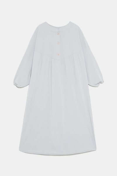 Buttoned Oversized Shirt Dress