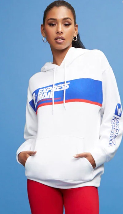 USPS Express Mail Graphic Hoodie