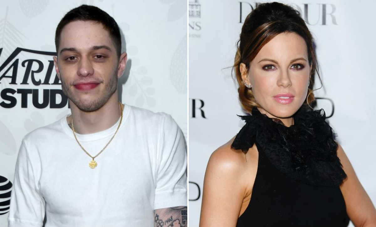 Pete Davidson's Dinner With Kate Beckinsale's Mom Was For An Important Anniversary