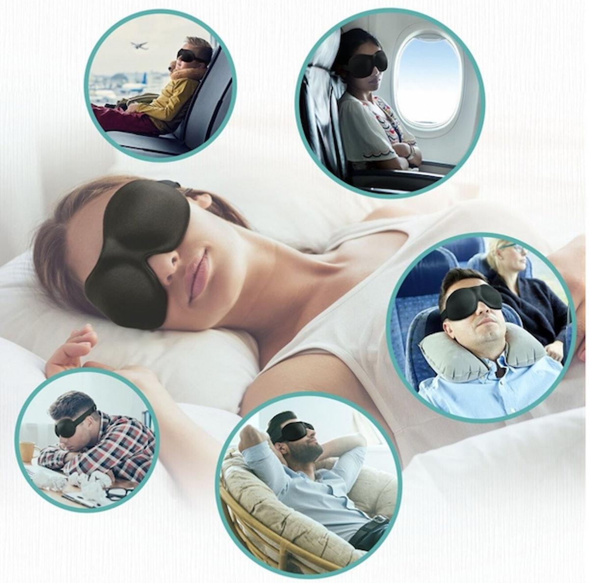 Unimi Contoured Sleep Mask