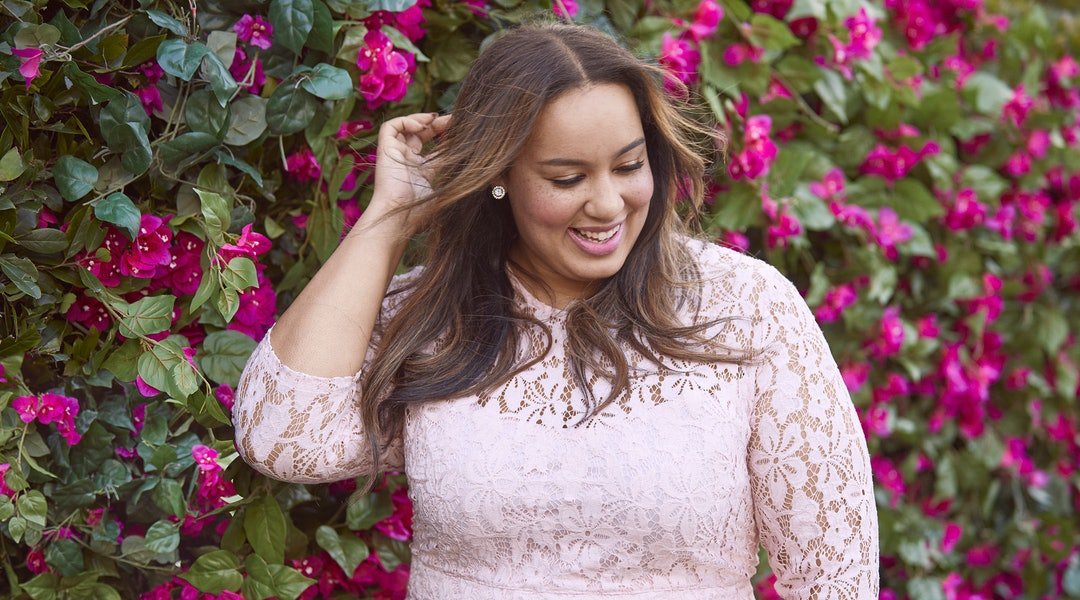 229aec94e36 Lane Bryant s Beauticurve Collaboration Features Some Major Spring Prints