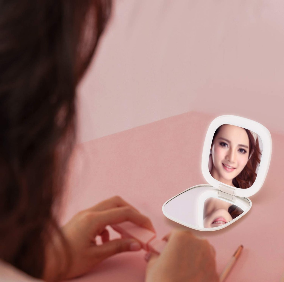 PINSOON LED Makeup Mirror