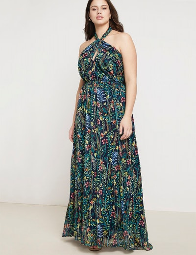 Jason Wu/ELOQUII Halter Maxi Dress