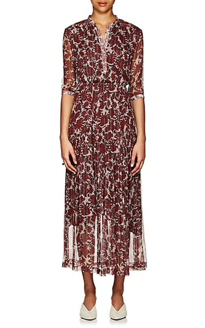 Ladyland Silk-Blend Maxi Dress