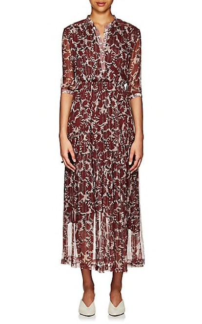 Ladyland Silk-Blend Maxi Dress