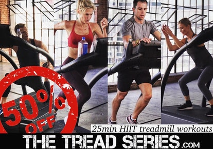 Chris Tye-Walker's 25min HIIT Treadmill Workout