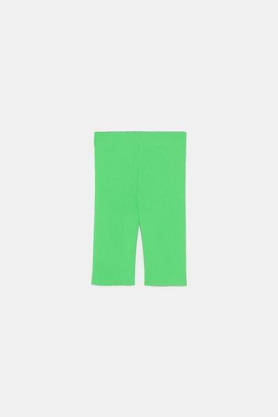 Fluorescent Biker Shorts