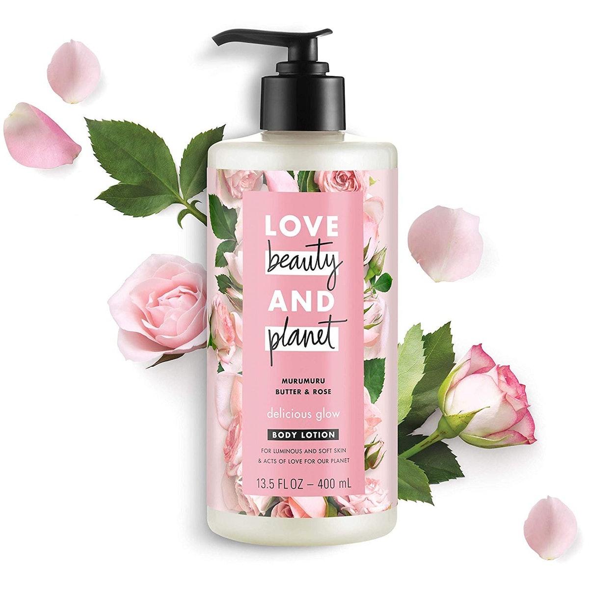 Love Beauty And Planet Murumuru Butter & Rose Body Lotion