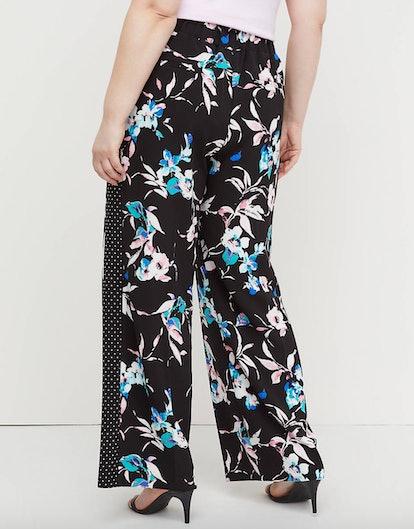 Wide Leg Pant - Pull-On Crepe